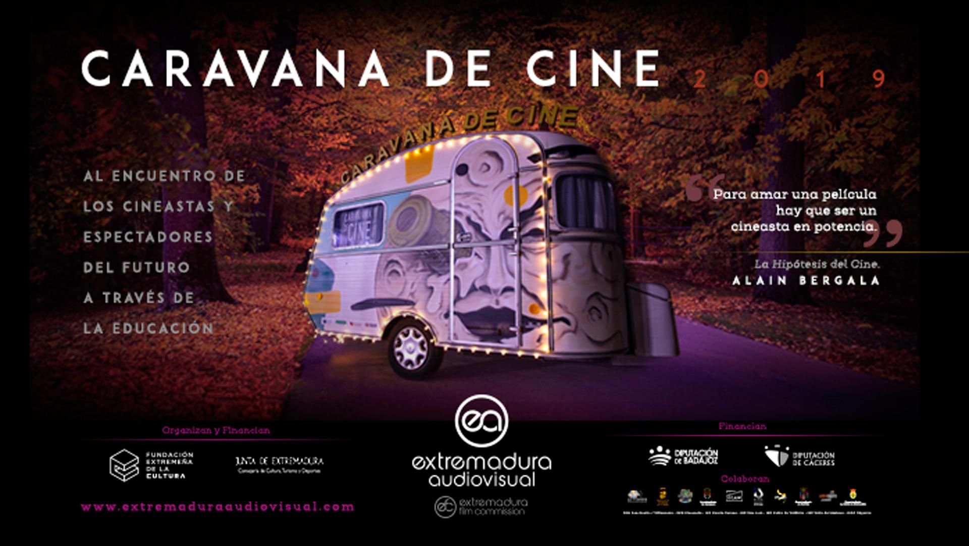 Arranca la segunda edición de la caravana de cine