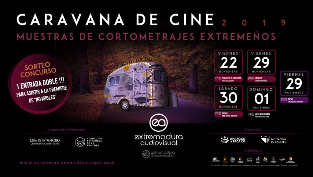 Muestras de cortometrajes extremeños de la Caravana de Cine