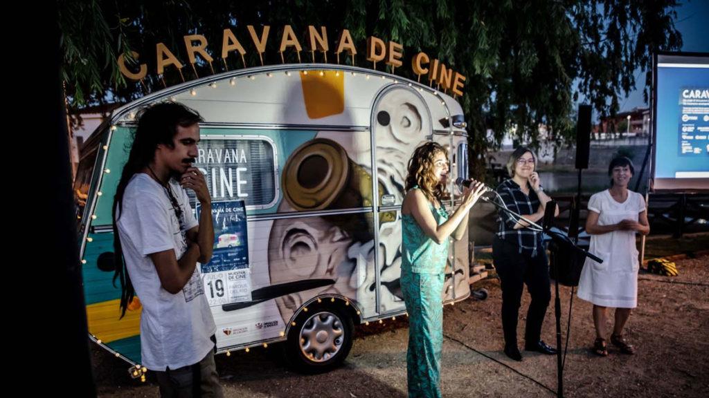Cuarta y última semana de la caravana de cine por la comarca de Sierra de gata