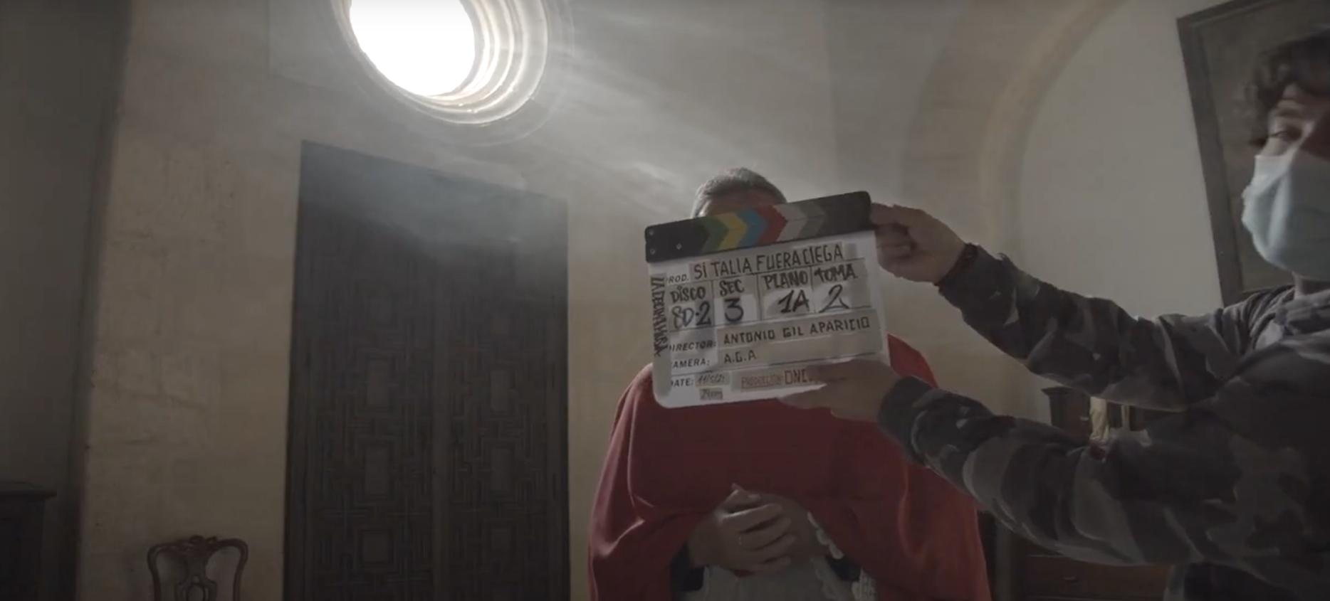 """Making of del Rodaje de la producción cinematográfica """"Si Talía fuera ciega"""""""