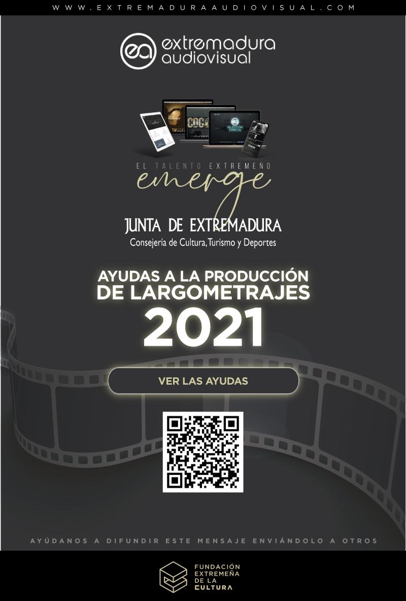Ayudas a la producción de largometrajes 2021