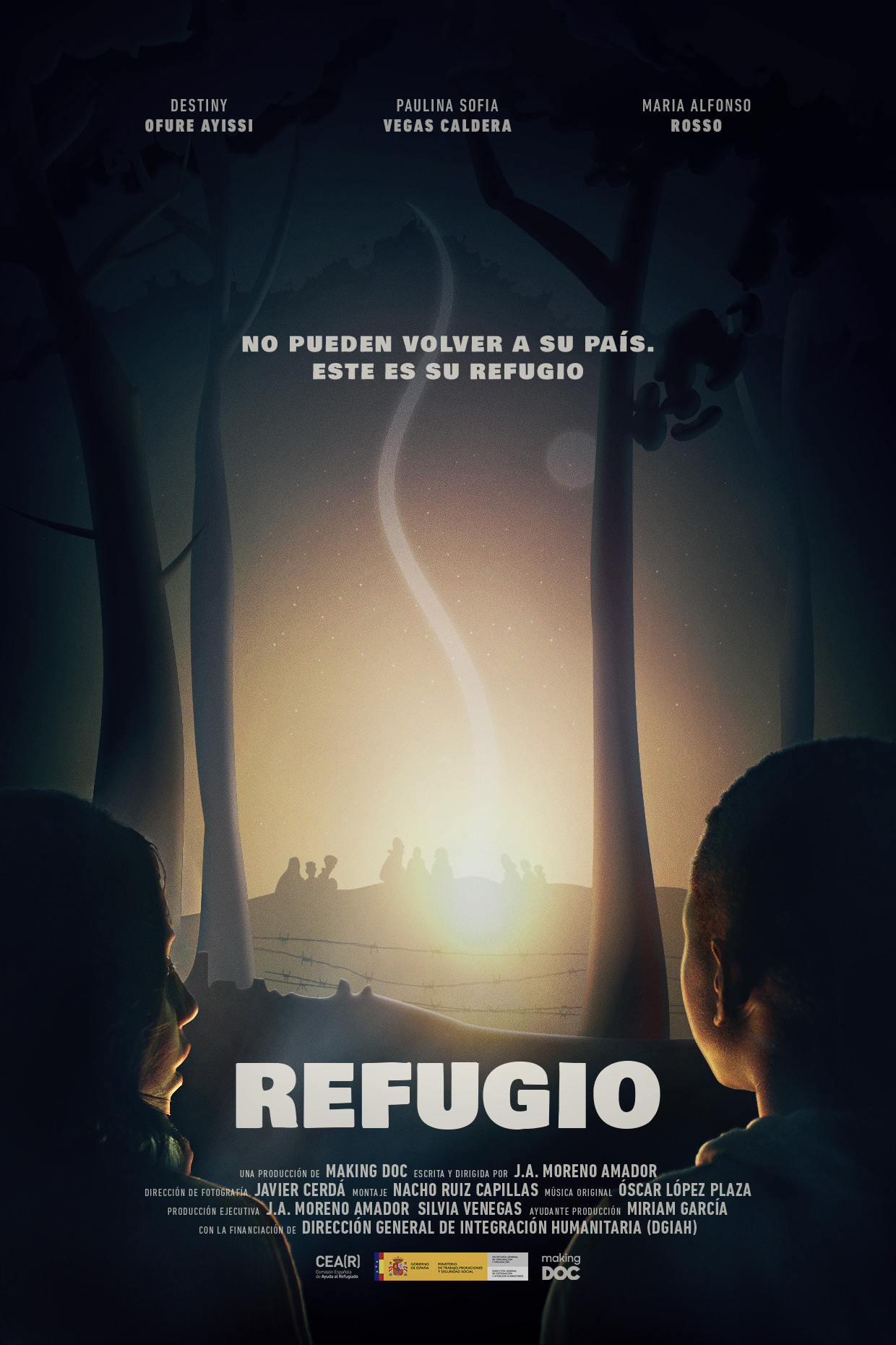 """El cortometraje """"Refugio"""", dirigido por Juan Antonio Moreno y producido por Making DOC, ha sido seleccionado en Filmets – Badalona Film Festival"""